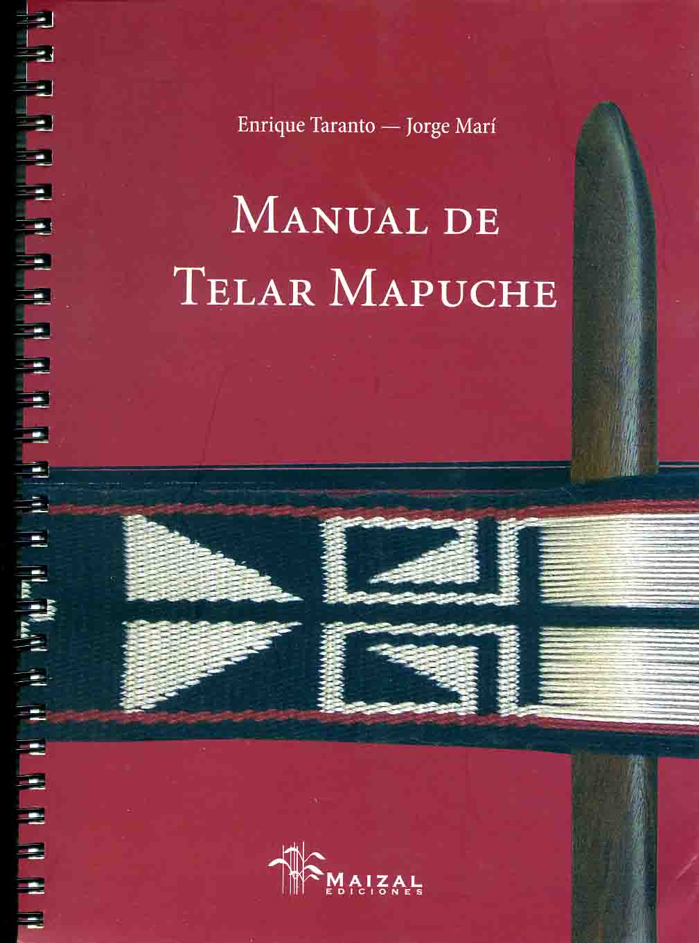 Cover of Manual de Telar Mapuche